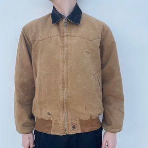 Carhartt Camel Brown Work Jacket